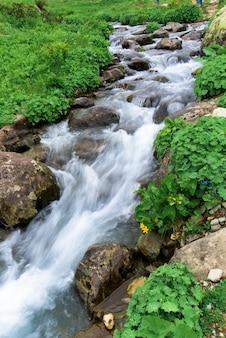 Fluss, langzeitbelichtung