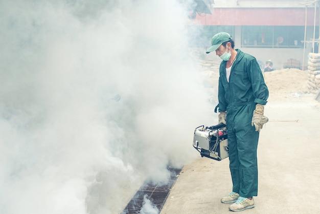 Fogging für beseitigen moskito