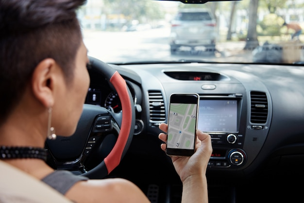 Folgende navigations-app