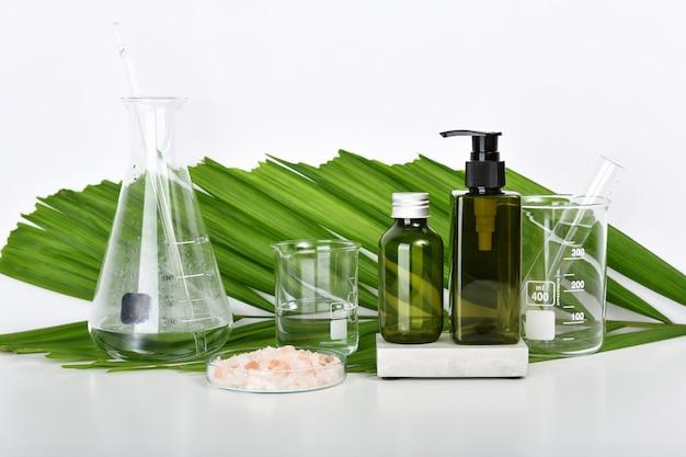 Forschungslabor für natürliche hautpflege-schönheitsprodukte