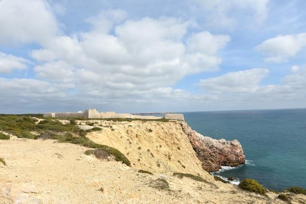 Fort von beliche, algarve, portugal