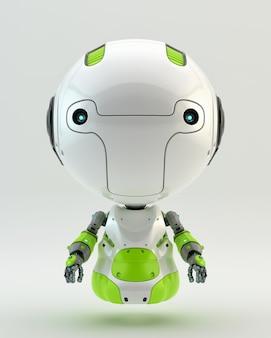 Fortgeschrittener roboter-charakter