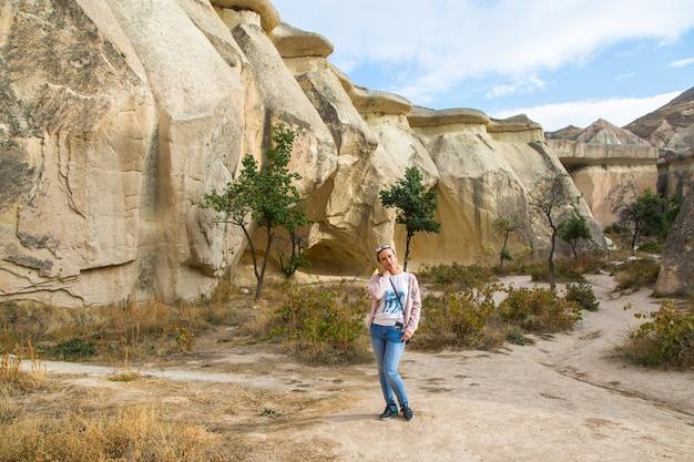 Foto cappadocia valley nationalpark ansehen. hochwertiges foto
