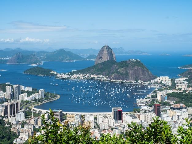 Foto der schönen und magischen stadt rio de janeiro und ihrer berühmten orte