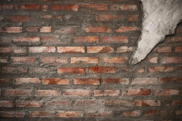 Foto des alten grunge backsteinmauerhintergrundes.