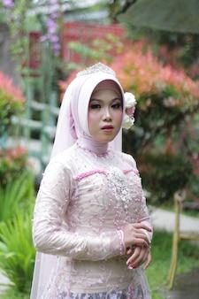 Foto einer verheirateten muslimischen frau