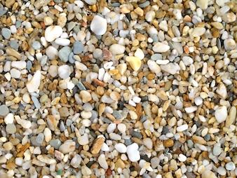 Foto für Tapete mit vom Strand abgefressenen Felsen