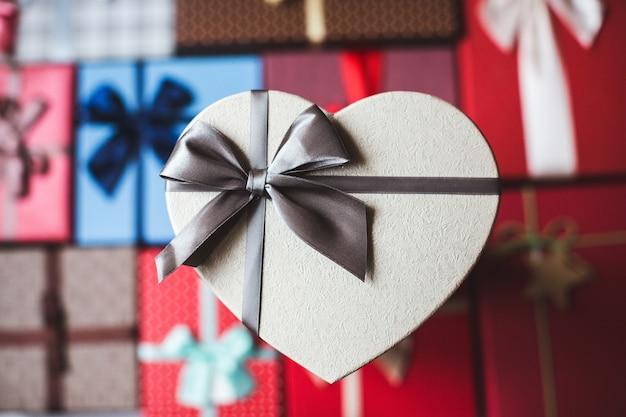Foto geschenkboxen draufsicht