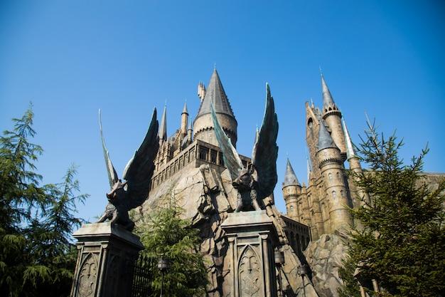 Foto von schloss hogwarts.