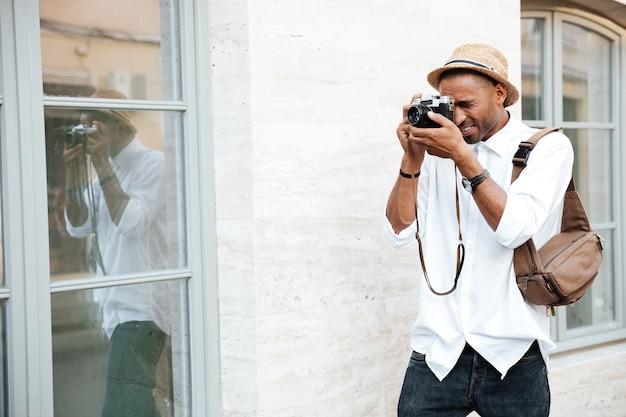Fotograf auf der straße