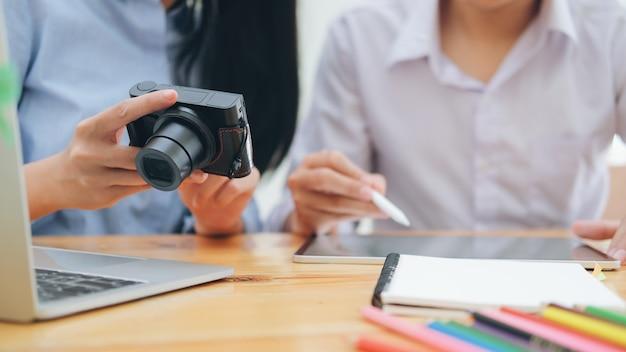 Fotograf künstler und grafiker arbeiten.