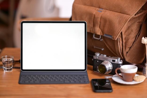 Fotograf oder kreativer arbeitsbereich