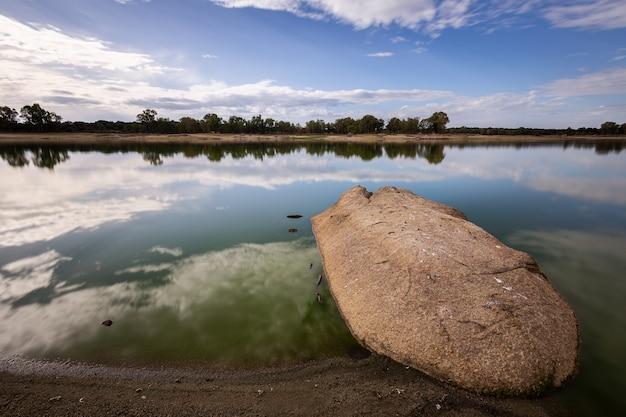 Fotografiert am salor reservoir. caceres. extremadura spanien.