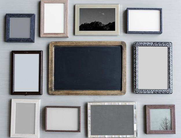 Fotorahmen-collage
