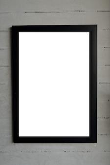 Fotorahmen, leerer rahmen für text