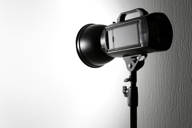Fotostudio mit blitzausrüstung