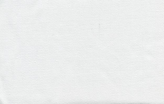 Fototextur des weißen gewebes von einem dünnen faden
