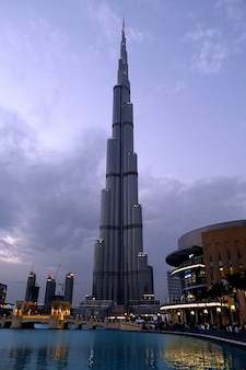 Fountain city kalifa burj dubai