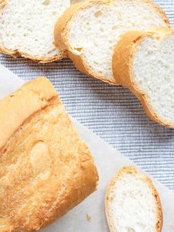 Französisch frisches brot baguettes