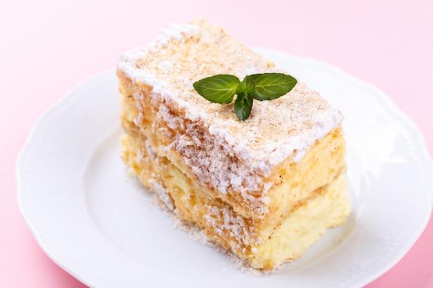 Französisch mille feuille kuchen