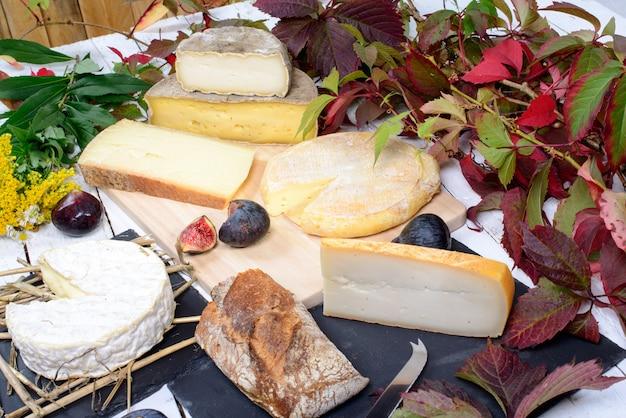 Französische käseplatte