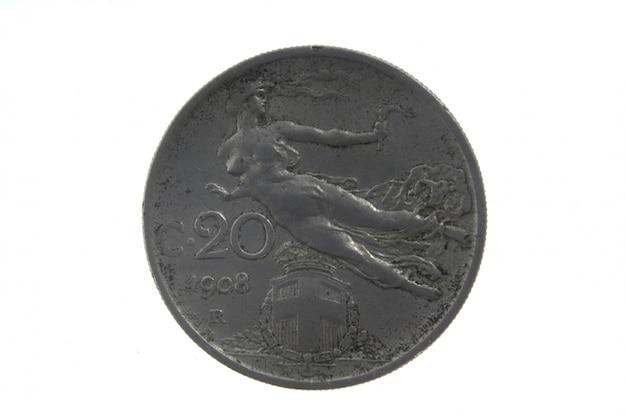 Französische währung des zwanzigsten jahrhunderts 2 cs, 1908