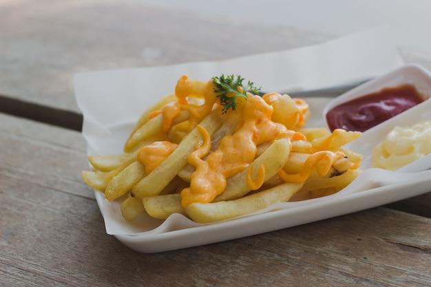 Französischer fried cheese