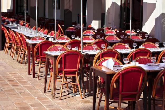 Französisches restaurant südfrankreich