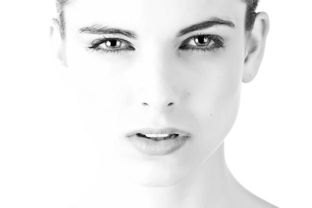 Frau model posiert