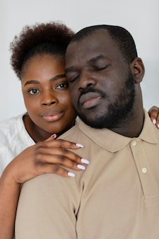 Frau und mann lieben sich