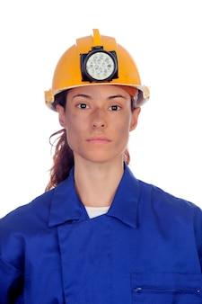 Frauen arbeiten im bergbau
