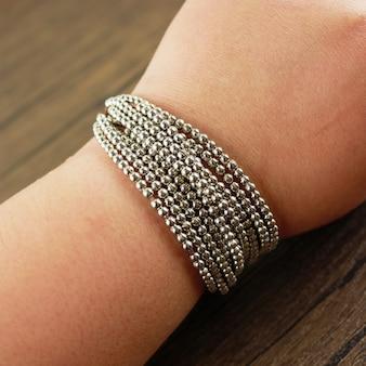 Frauen handgelenk tragen multi-strang-armband