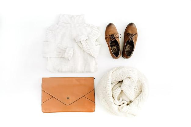Frauen moderne mode kleidung und accessoires