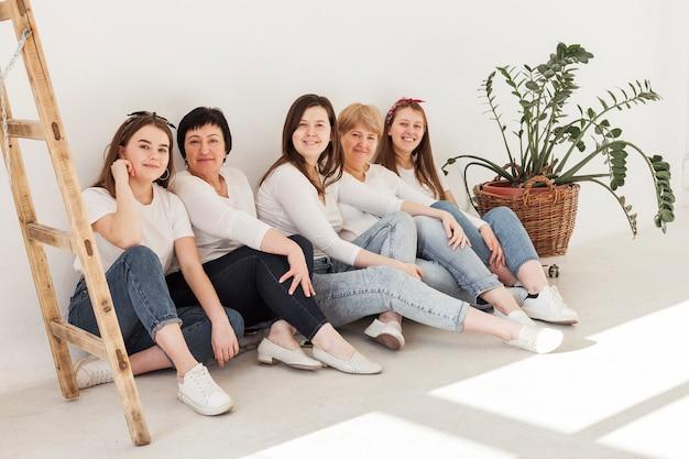 Frauengemeinschaft lebensstil lange sicht