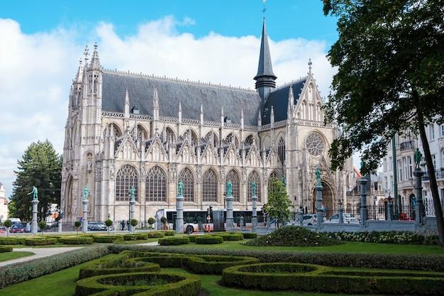 Frauenkirche in brüssel, belgien
