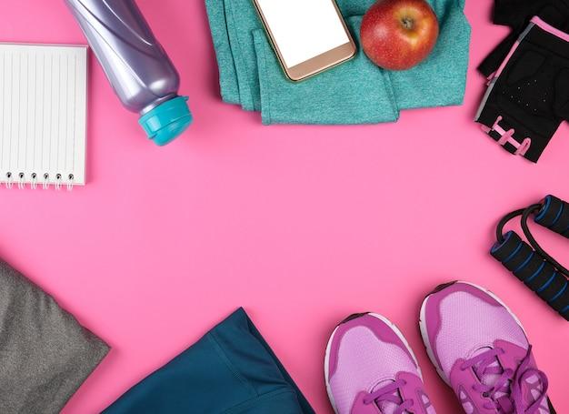 Frauensportbekleidung für sport und fitness