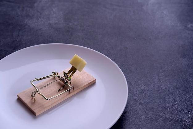 Freier käse kommt nur in einer mausefalle
