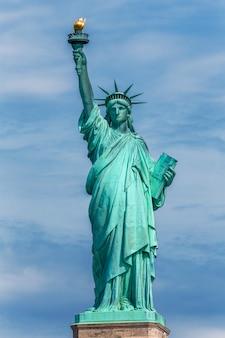 Freiheitsstatue new york amerikanisches symbol usa