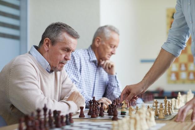 Freizeit im schachclub