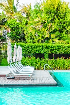 Freizeit-luxus poolside sommerhotel