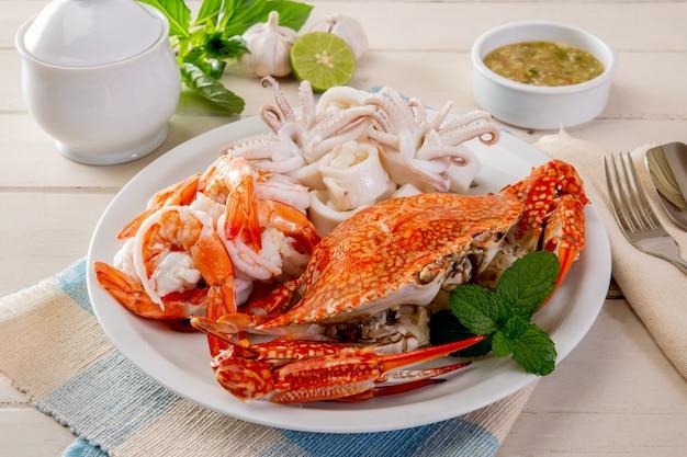 Fried shrimp mit knoblauchpfeffer