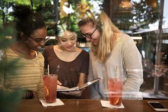 Friends People Group Teamarbeit Vielfalt