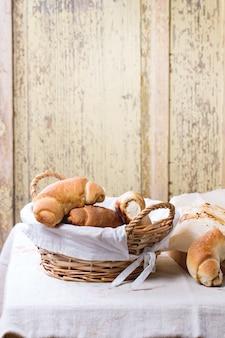 Frisch gebackene bagels