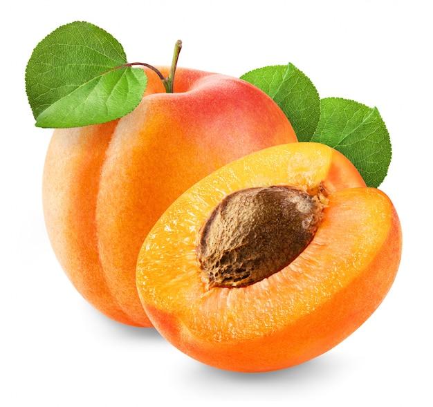 Frische aprikose