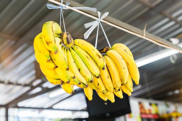 Frische bio-banane
