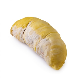 Frische durianfrucht getrennt