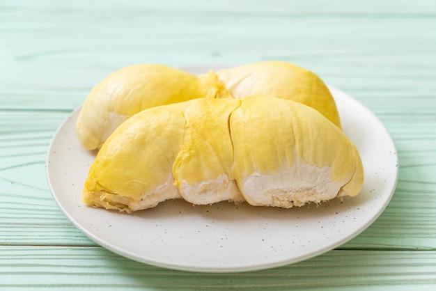 Frische durianfrucht
