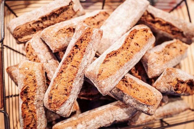 Frische französische baguettes