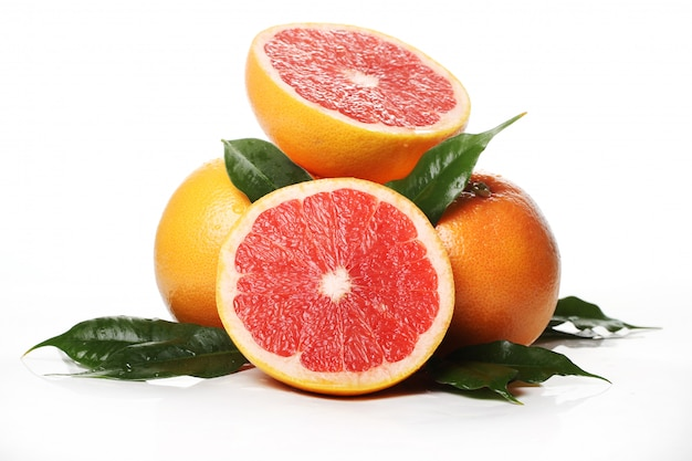 Frische grapefruits