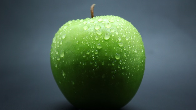 Frische grüne apfel fotos